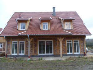 Einfamilienhaus Terrassenübedachung